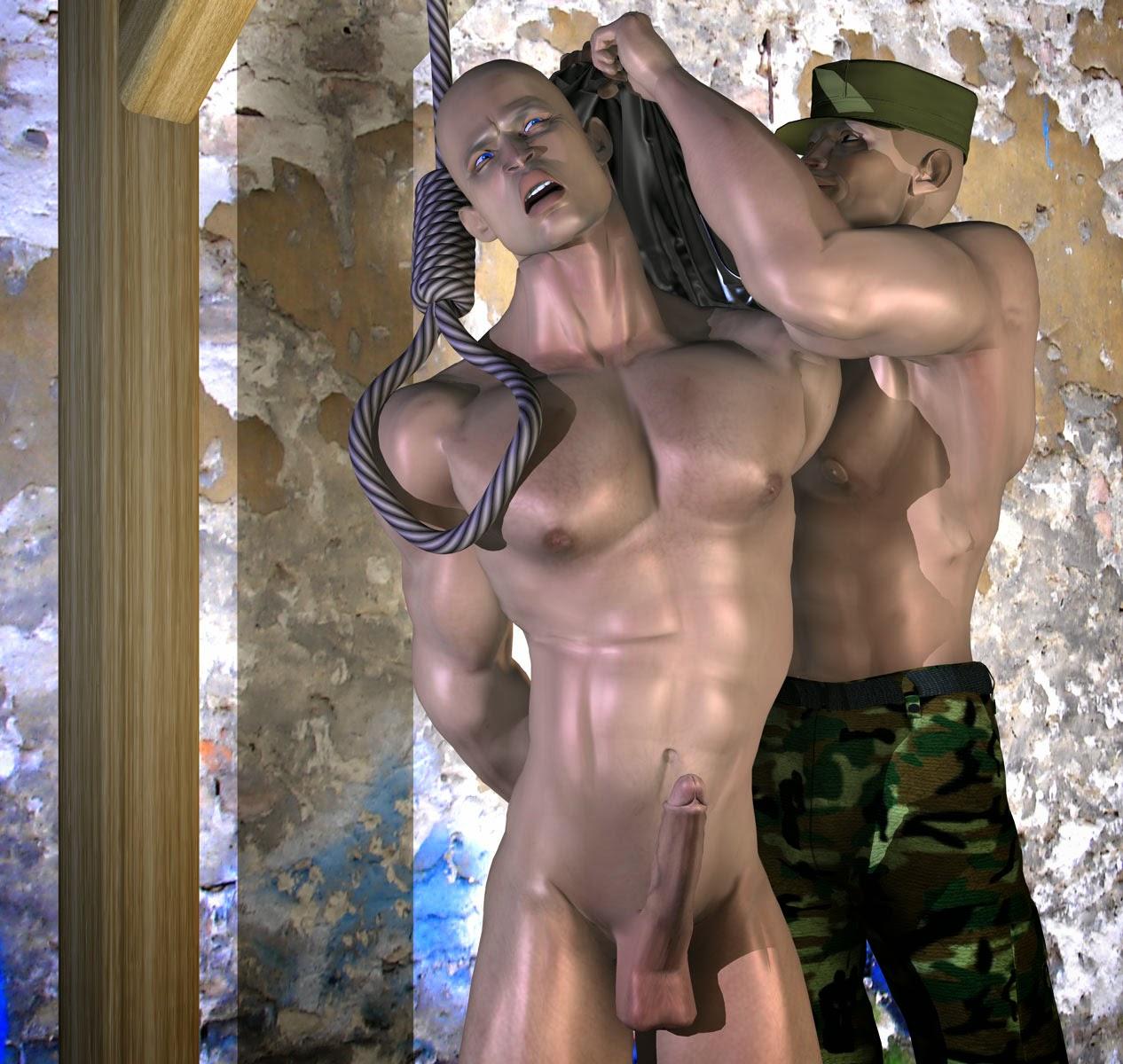 Captured gay male fantasy