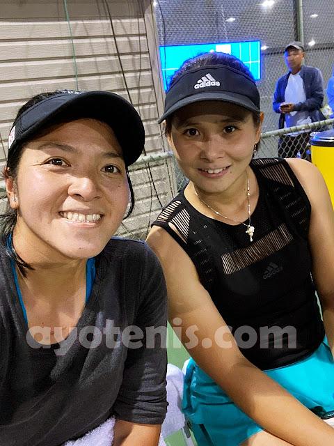 Tekuk Ganda Amerika Serikat, Bea/Eci Maju ke Perempatfinal WTA 125K Oracle Challenger Series, Ini kata Echi...