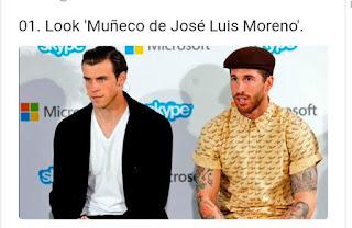 Sergio Ramos con look de Macario