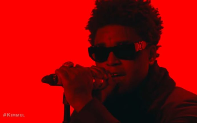 "Kodak Black Performs ""Testimony"" on 'Jimmy Kimmel Live!'"