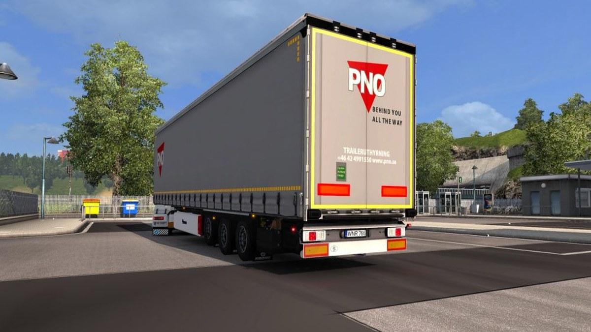 Standalone Krone Mega Liner PNO