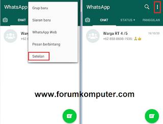 Cara Mudah Mematikan Centang Biru Tanda Sudah Dibaca Di Whatsapp