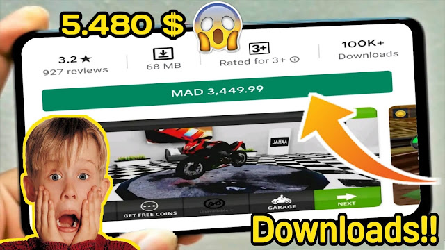 TOP 5 GAMES MOBILE  MOST EXPENSIVE FOR ANDROID AT PLAY STORE 2020 | FREE DOWNLOAD