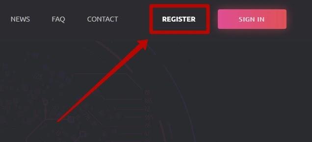 Регистрация в CryptoSpot