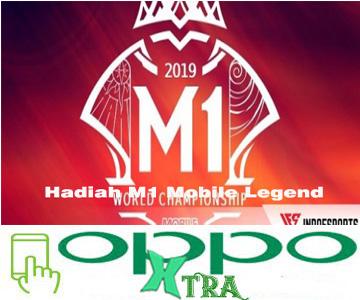 Hadiah M1 Mobile Legend