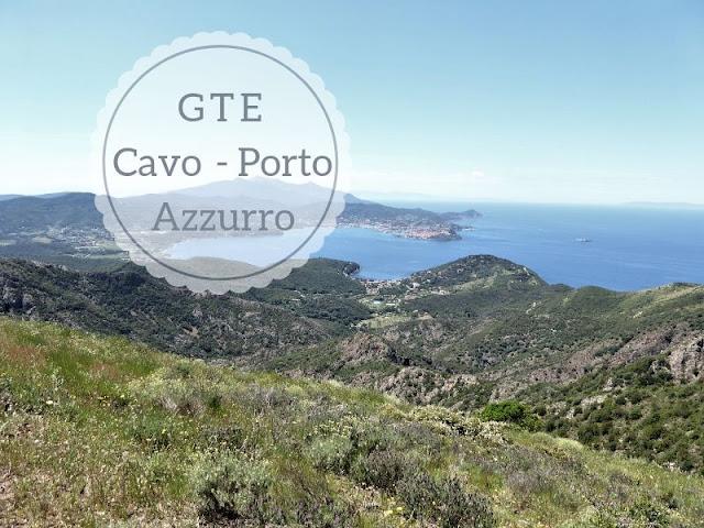 Prima tappa della GTE da Cavo a Porto Azzurro - vista su Portoferraio