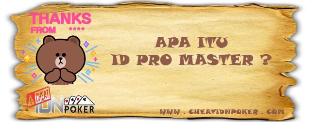 Apa Itu ID Pro Master?