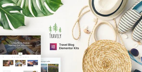 Best Travel Blog Template Kit