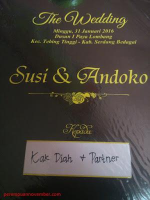 undangan pesta pernikahan