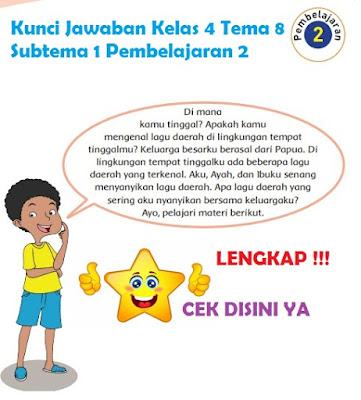 Kunci Jawaban Kelas 4 Tema 8 Subtema 1 Pembelajaran 2 www.simplenews.me