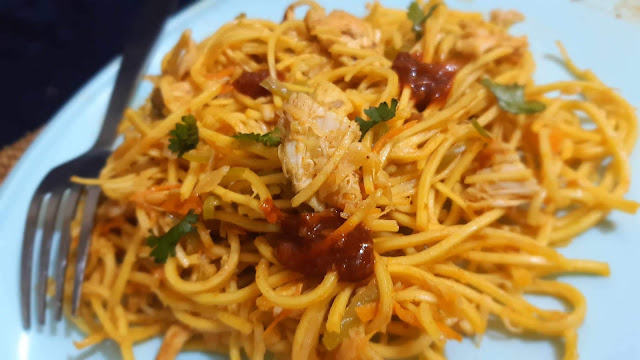 Spicy Chicken Noodles