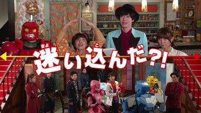 Kamen Rider Saber + Kikai Sentai Zenkaiger: Super Hero Senki Teaser Trailer Released
