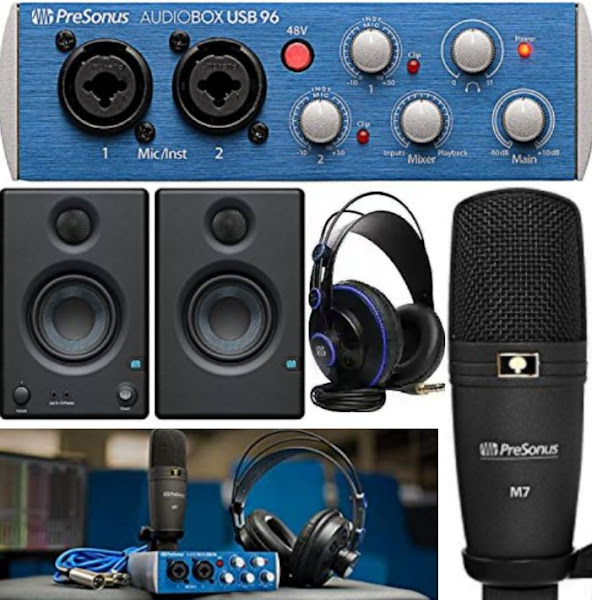 PreSonus Multimedia Studio Recording Kit - Musical Instruments