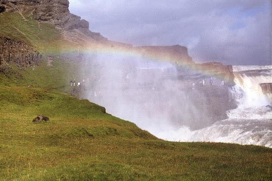 Gullfoss, Iceland 1977