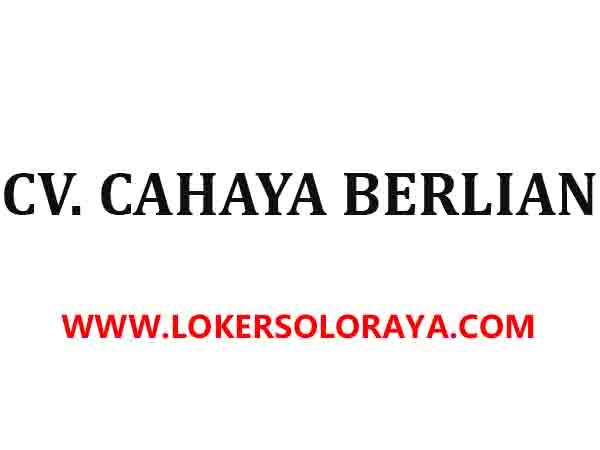 Loker Solo Raya Semarang Tegal Jogja Kudus Lulusan Sma Smk Di Cv Cahaya Berlian Portal Info Lowongan Kerja Terbaru Di Solo Raya Surakarta 2021