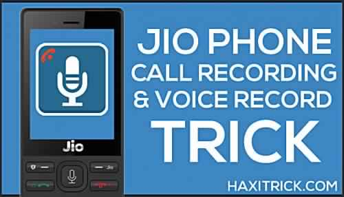 Jio Phone Call Recording Apps Voice Record Kaise Kare Free Download