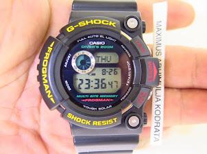 CASIO G-SHOCK FROGMAN GW-200Z-1DR FINAL FROGMAN - TOUGH SOLAR - MINT CONDITION