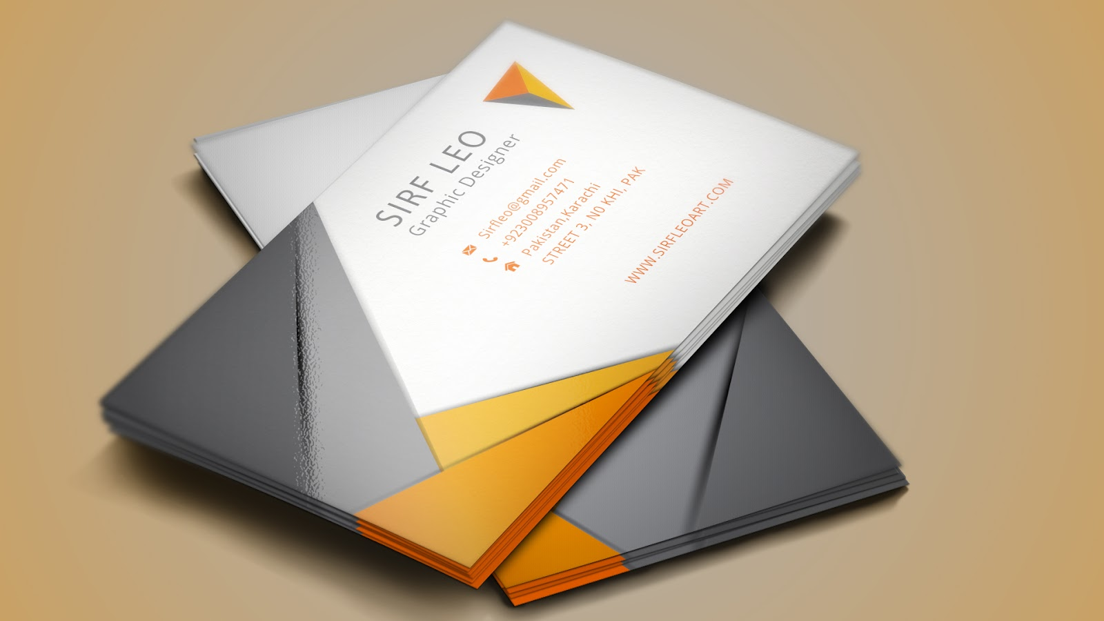 Cool Creative Business Card + Ai - Illustrator cs 6 Tutorial ...