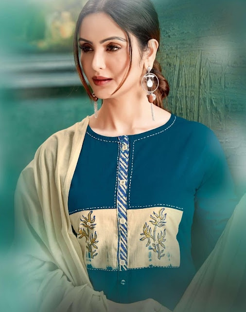 Chhaya Rim Zim Cotton Daily Wear Kurtis Collection 2020 Latest Design