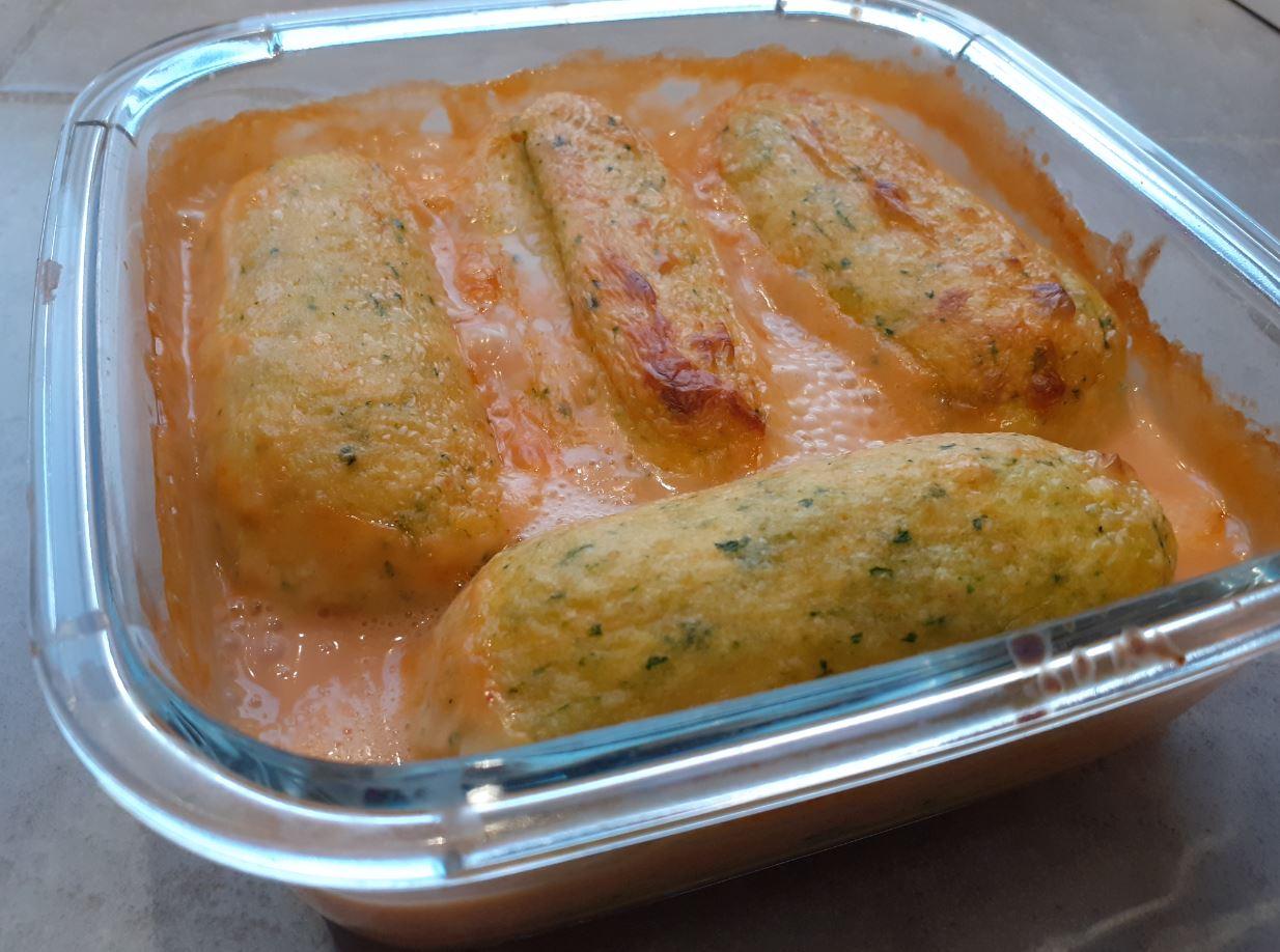 quenelle aux légumes et sauce nantua