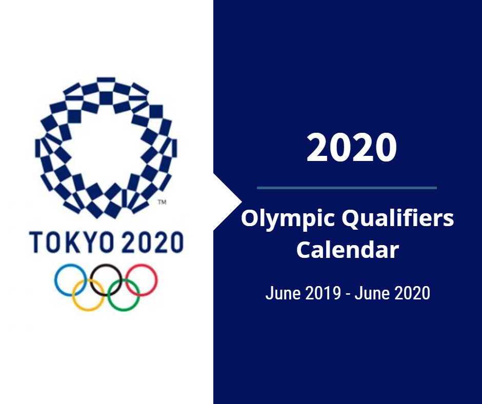 2020 Olympics Events.2020 Olympic Qualification Calendar Small Ball Spins The