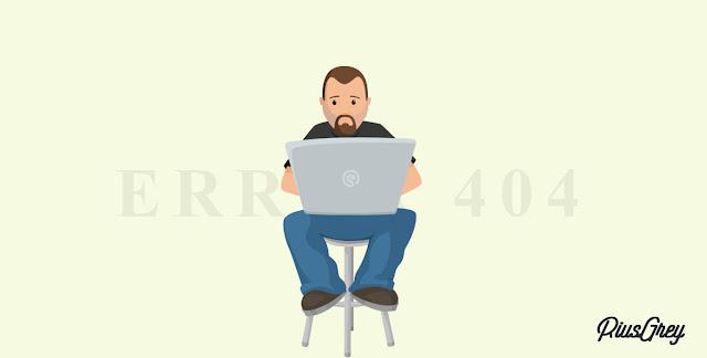 Tạo trang báo lỗi 404 hiệu ứng 3D bằng CSS tuyệt đẹp cho Blogspot | RIUSGREY