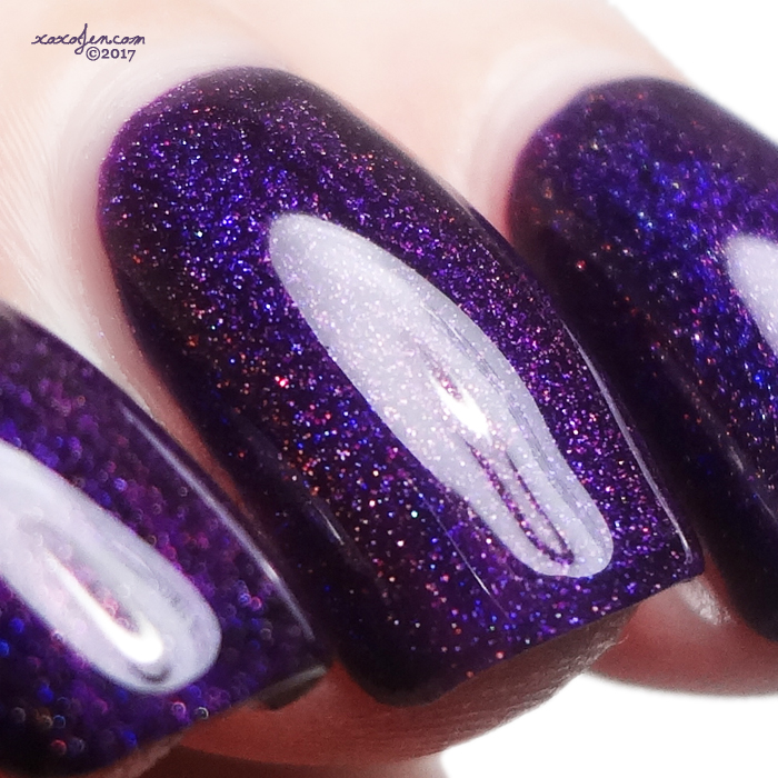 xoxoJen's swatch of Anonymous Lacquer Deep Secret