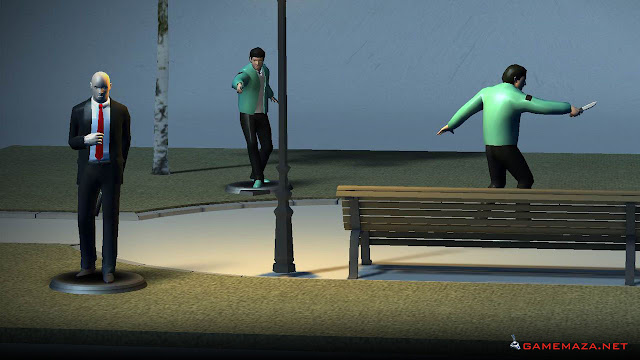 Hitman Go Gameplay Screenshot 3