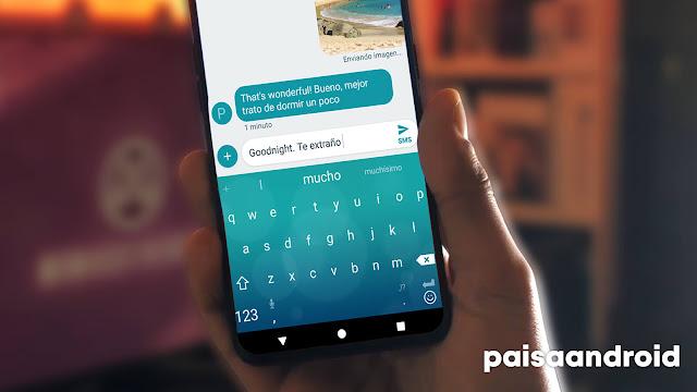 Teclado SwiftKey en Android