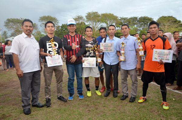 Tim Futsal P2KP2 Menangi Gema Futsal Tingkat Sumbar
