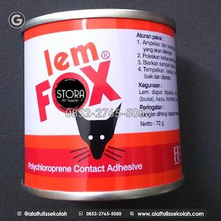 distributor lem fox jakarta | +62 852-2765-5050