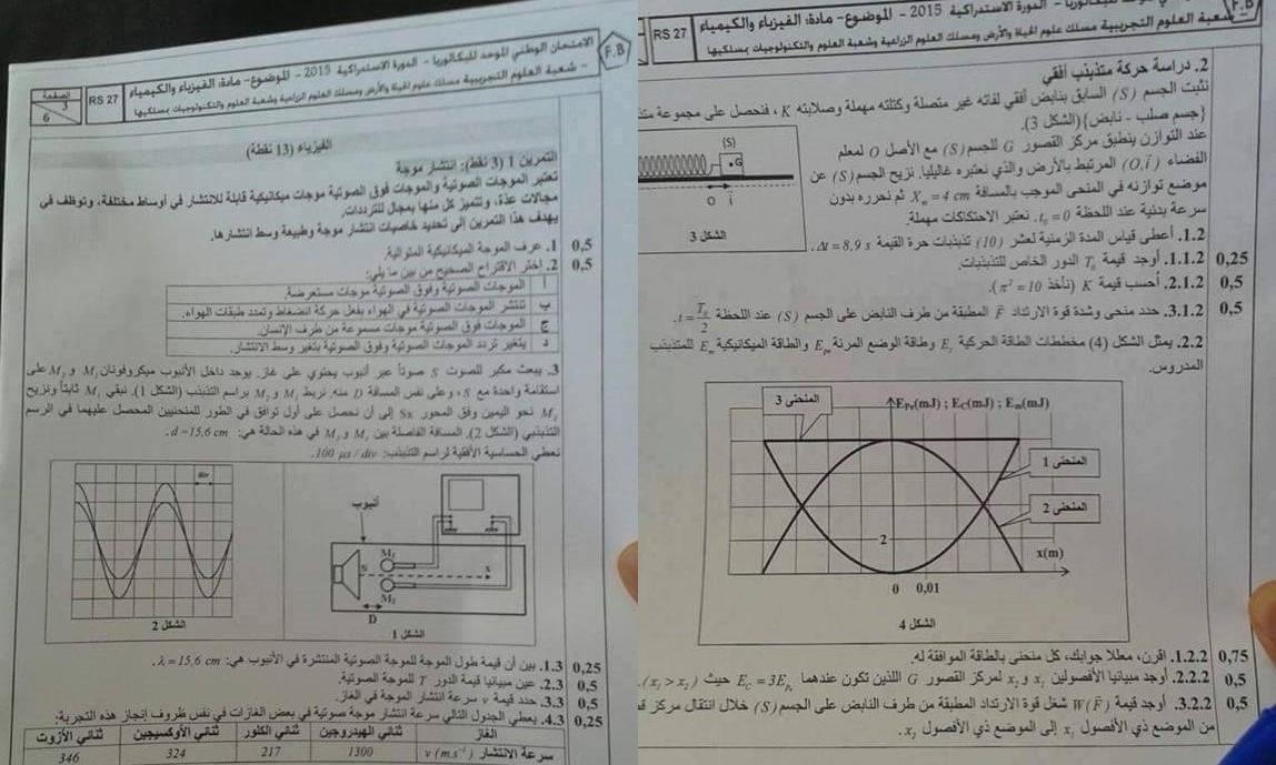 عاجل.. صفحات فايسبوكية تنشر تسريبات إمتحانات الباكلوريا