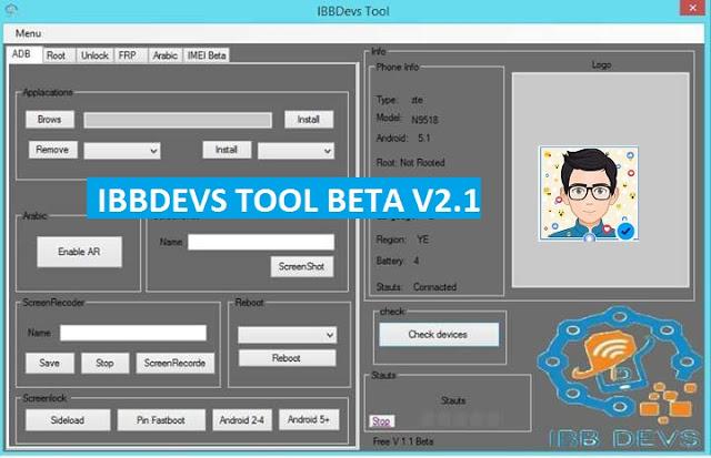 أداة IBB Devs Tool الإصدار الثاني V2.1