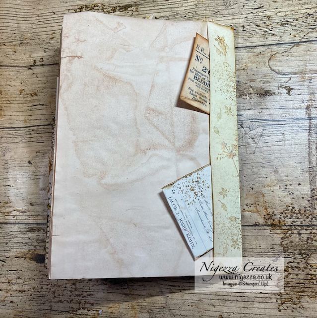 Using A Full Edith Holden Page In My Junk Journal