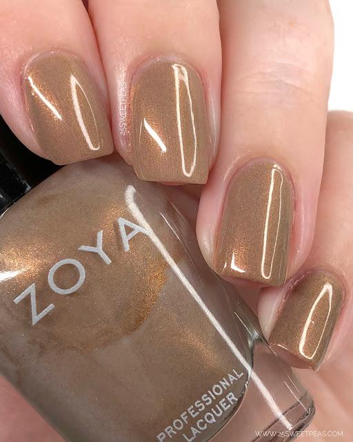 Zoya Keira Swatch 25 Sweetpeas
