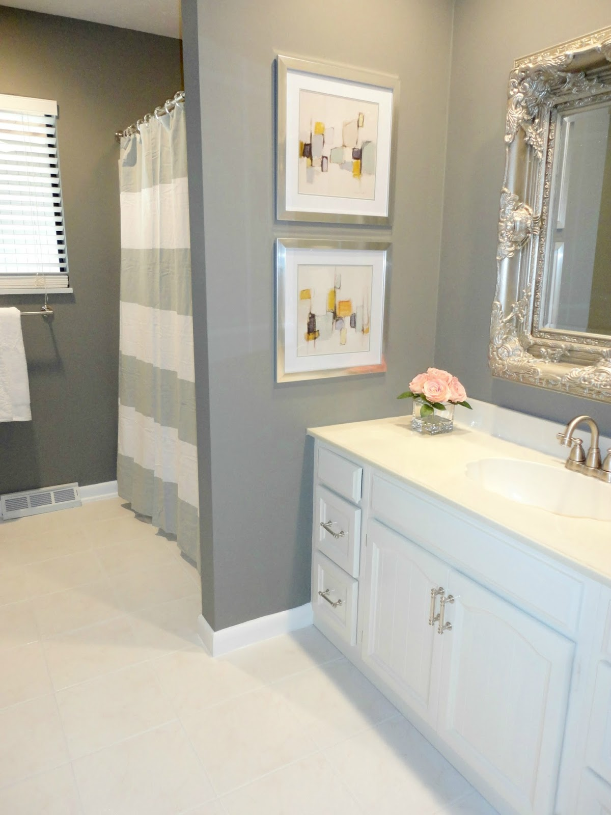 Inexpensive Diy Bathroom Remodel livelovediy: diy bathroom remodel on a budget