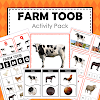 Farm Safari Toob Printable Learning Materials