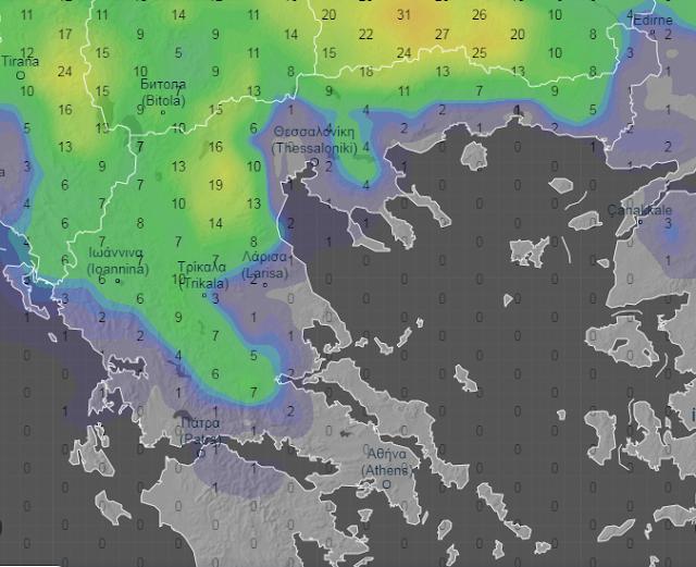 synolo - Καιρός 27-29/4/2020: Αστάθεια στα βόρεια με υψηλές θερμοκρασίες
