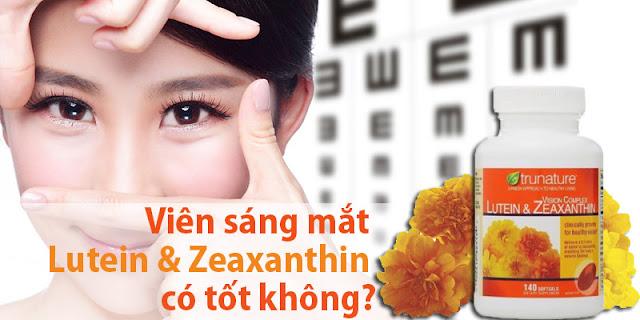 Viên bổ mắt Trunature Vision Complex Lutein & Zeaxanthin 140v 1