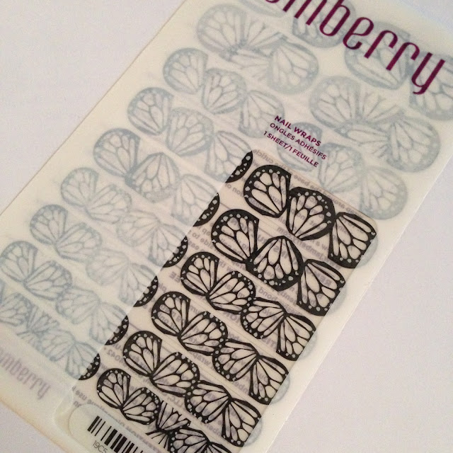 butterfly dream jamberry wrap