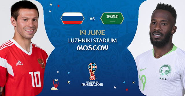 Russia vs Saudi Arabia kick off time - world cup preview