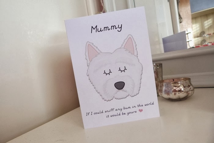 an image of a westie mothers day card