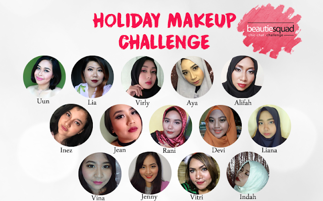beautiesquad holiday makeup