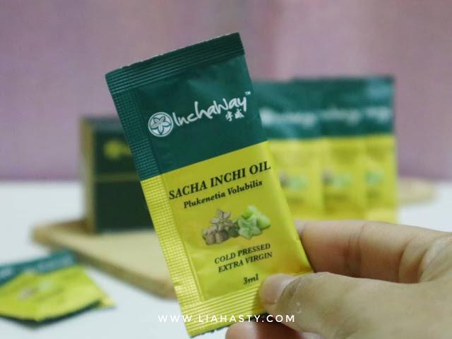 Produk Kesihatan Sacha Inchi Oil dari Inchaway seimbangkan asid lemak dalam badan