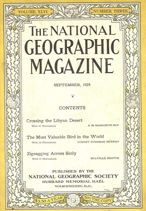 National Geographic September 1924
