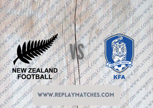 New Zealand U23 vs Korea Republic U23 -Highlights 22 July 2021