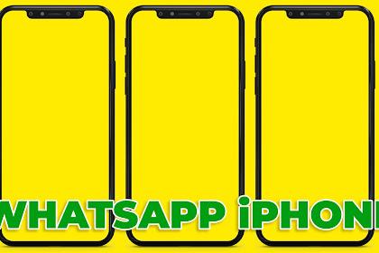 Download Whatsapp Mod Terbaru Bulan Oktober RA Whatsapp iOS