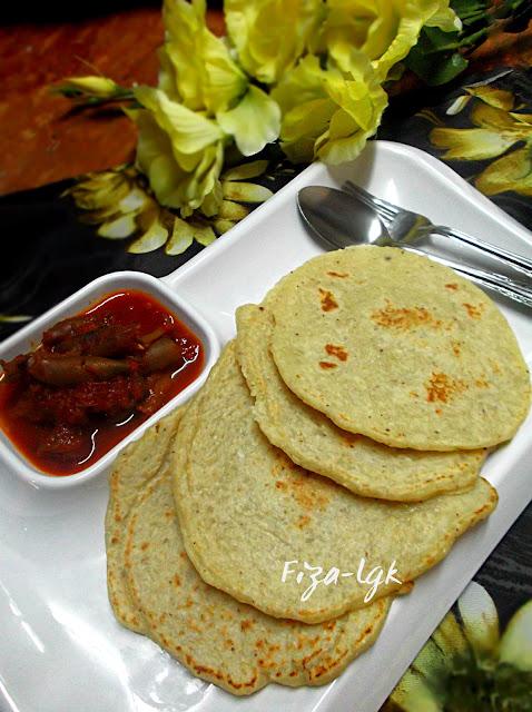lempeng kelapa pek nga fizas cooking Resepi Lempeng Air Panas Enak dan Mudah