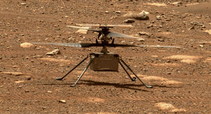 Mars Helicopter's Third Flight Goes Farther Than Before