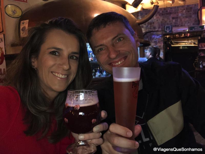 cervejas na Bélgica